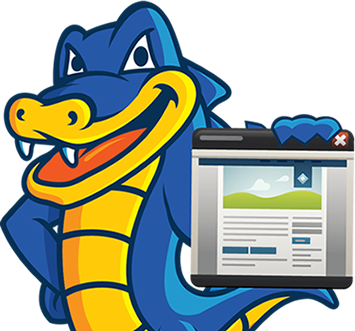 Snappy the HostGator holding a sale sign.